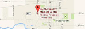 Greene County Medical Center Google Map